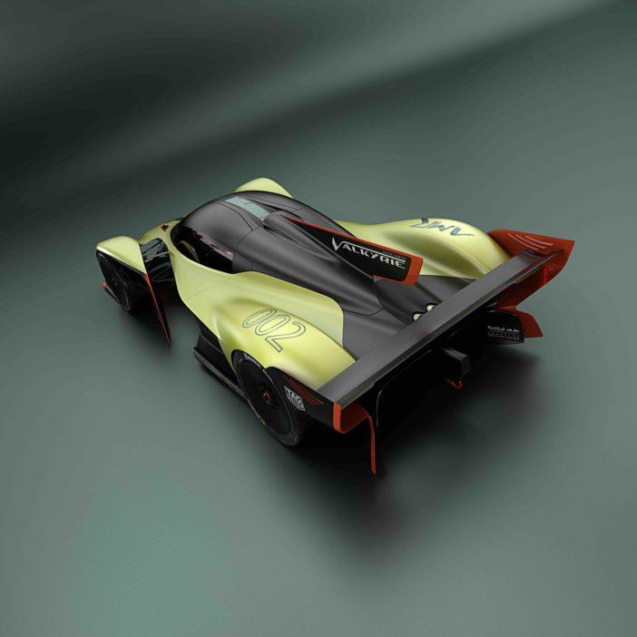 Aston Martin Valkyrie AMR Pro Vue Arrière Plongeante