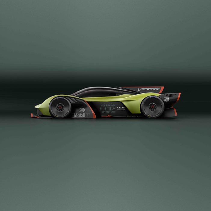Aston Martin Valkyrie AMR Pro Vue Latérale