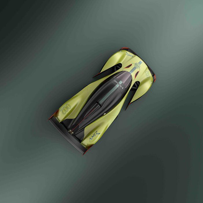Aston Martin Valkyrie AMR Pro Vue Plongeante