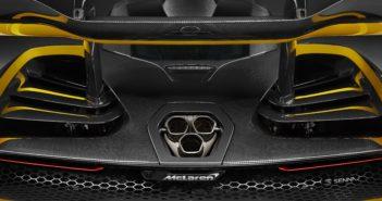 McLaren Senna Carbon Theme Aileron arrière