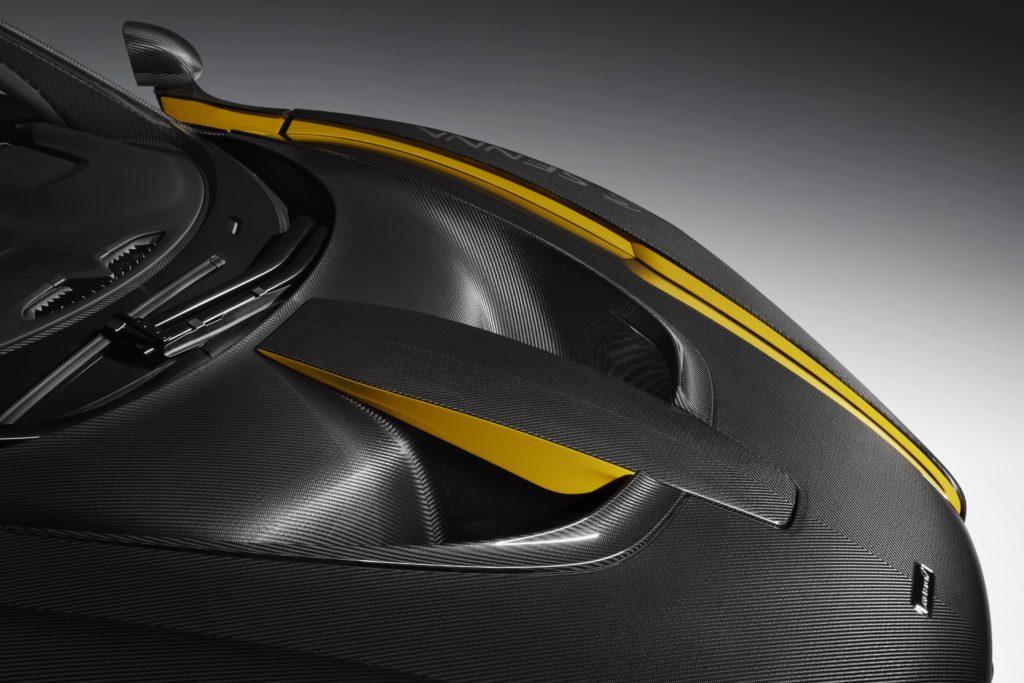 McLaren Senna Carbon Theme Capot Avant