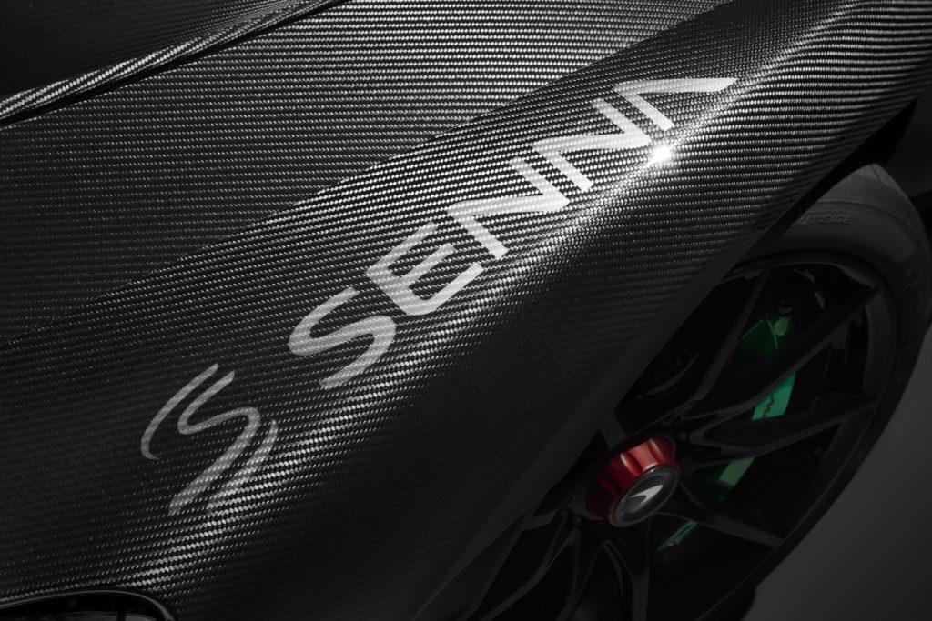McLaren Senna Carbon Theme Garde boue avant