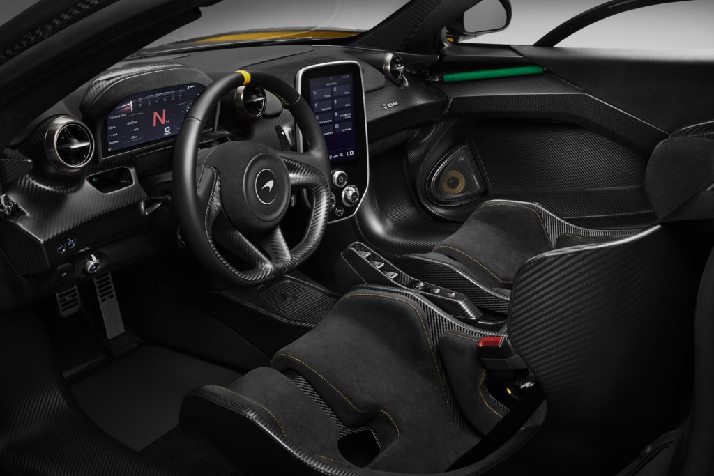 McLaren Senna Carbon Theme Interieur