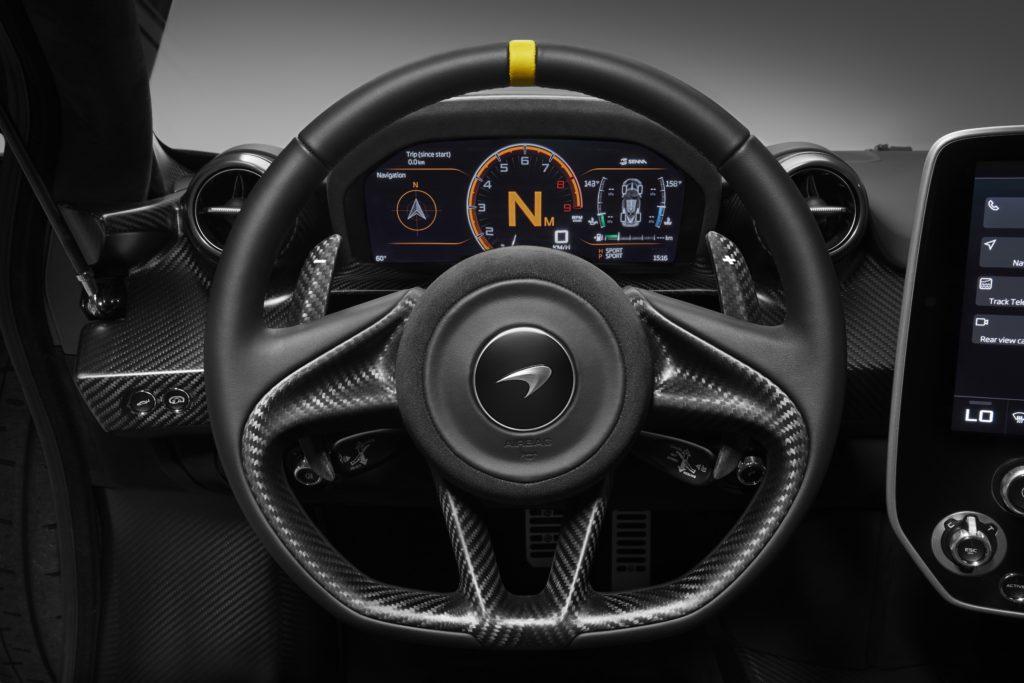 McLaren Senna Carbon Theme Volant