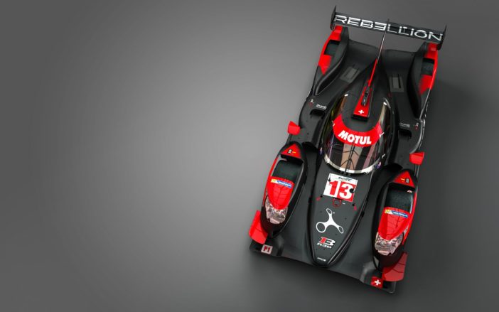 Rebellion R13 vue plongeante