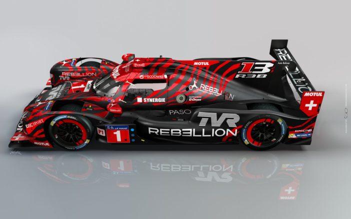 Rebellion R13 TVR 24 Heures du Mans 2018