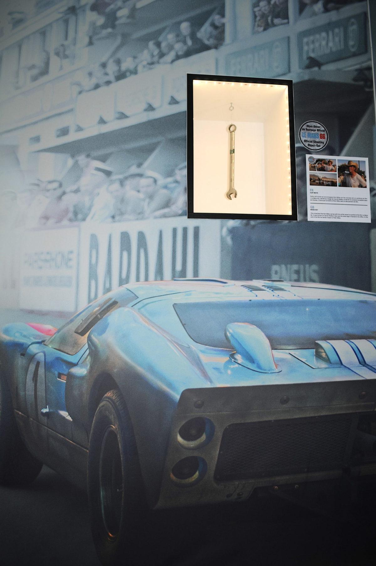 Clé mixte Ken Miles Le Mans 66