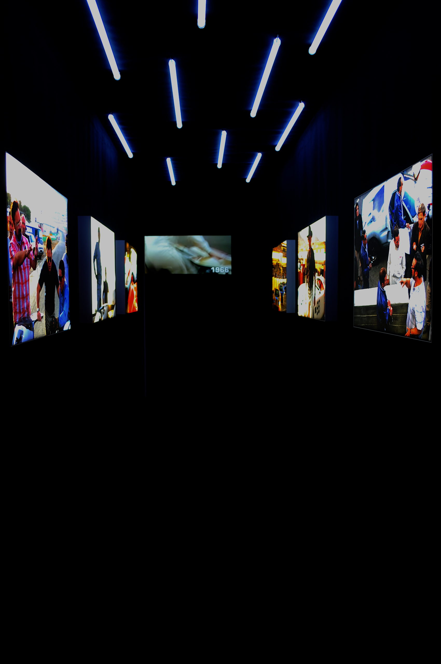 Exposition Le Mans 66 projection