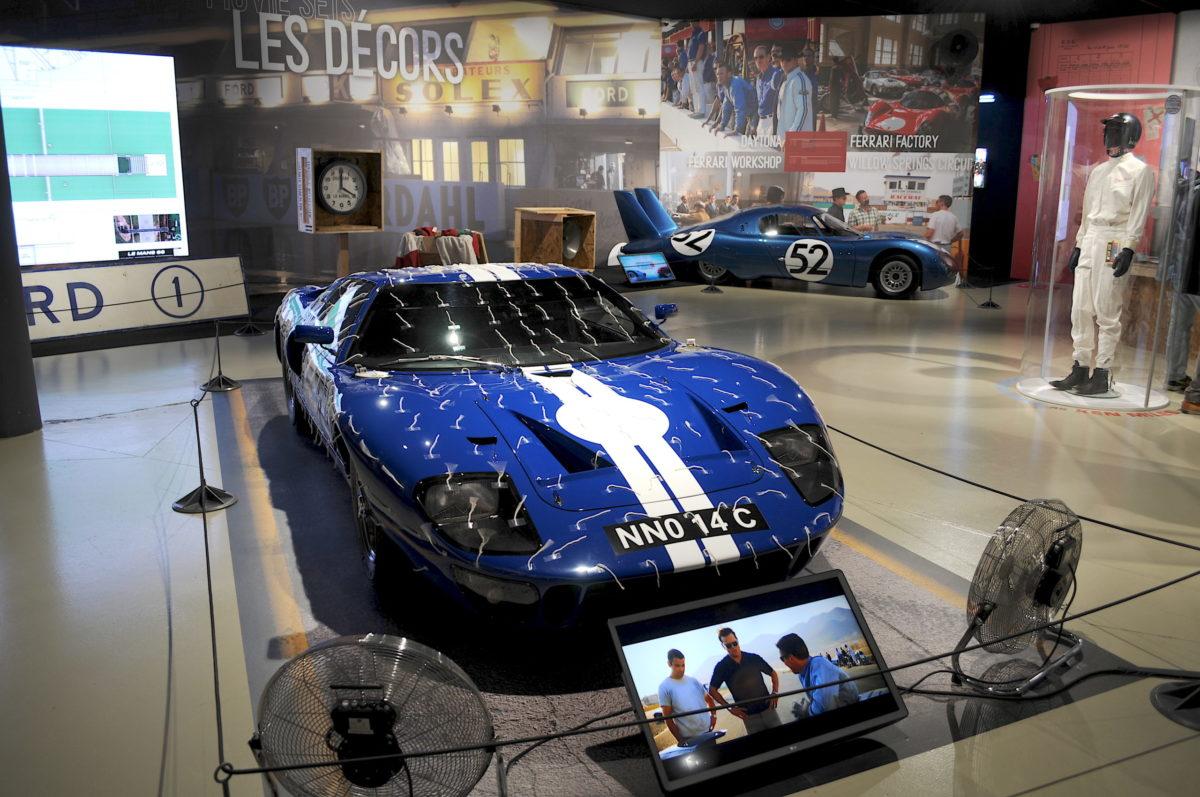 Ford GT40 bleue Le Mans 66