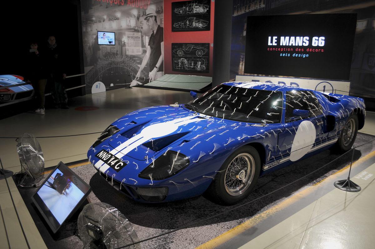 Ford GT40 pelote de laine Le Mans 66