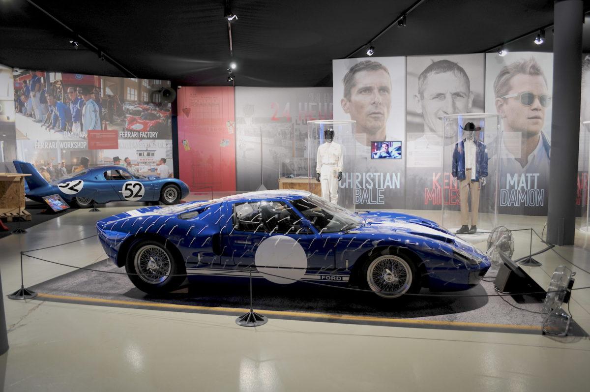 Portraits exposition Le Mans 66