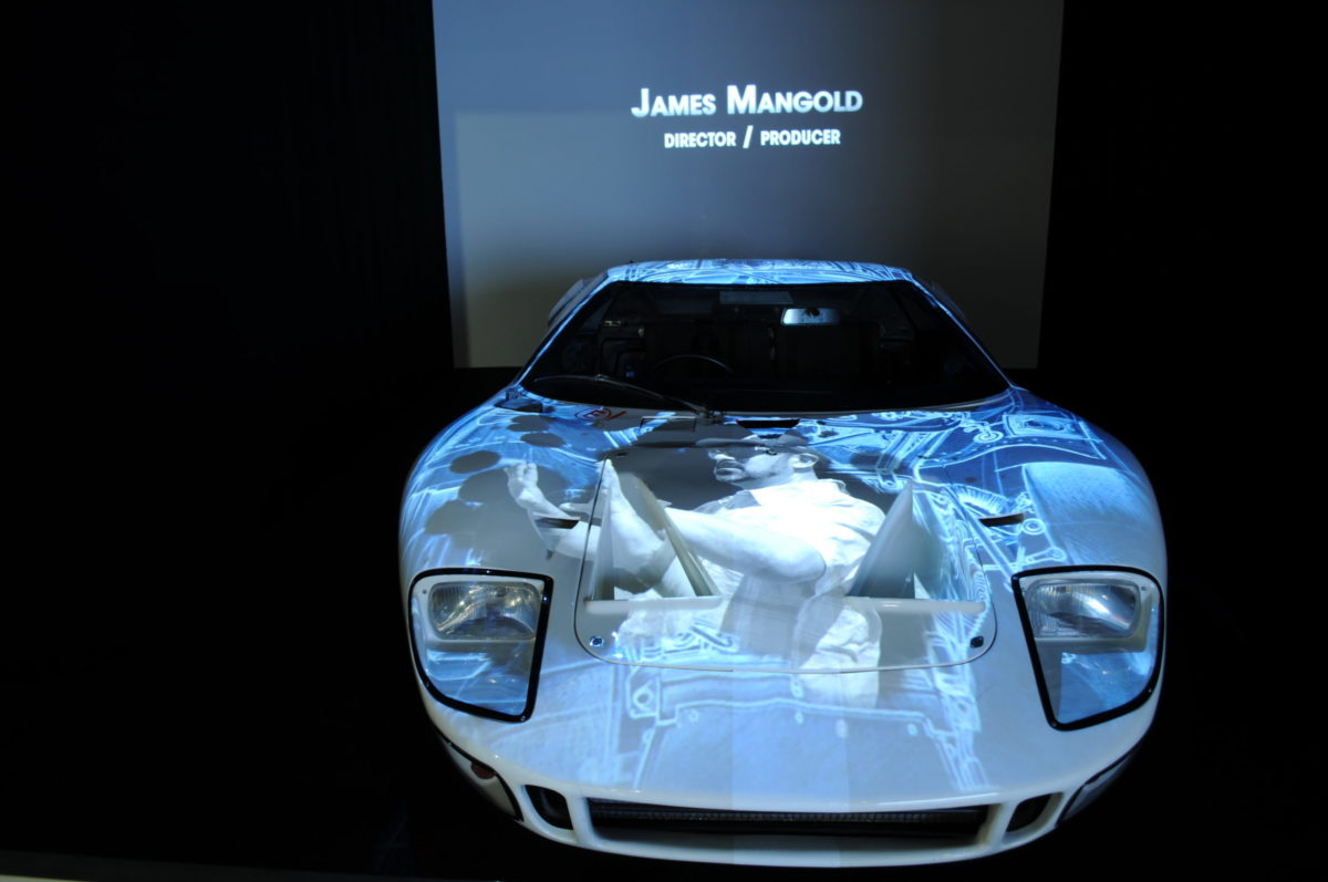 Visuel James Mangold Ford GT40 exposition Le Mans 66