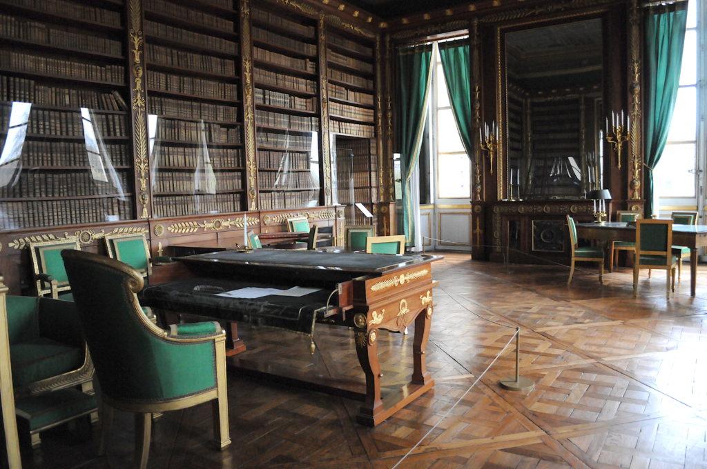 Bibliothèque empereur Château de Compiegne