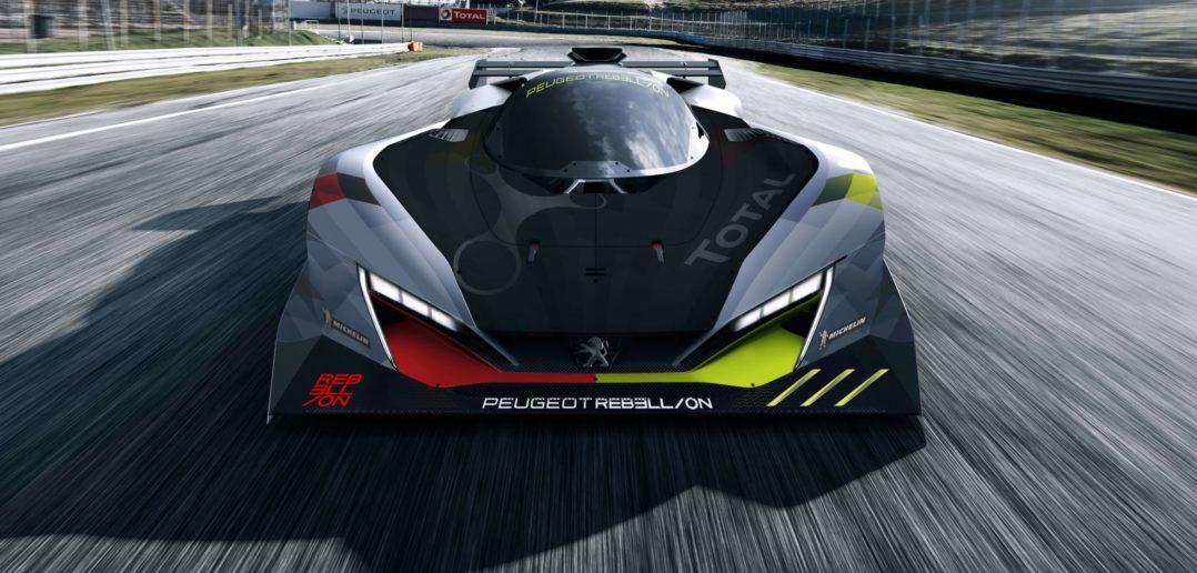 Peugeot Rebellion Le Mans Hypercar