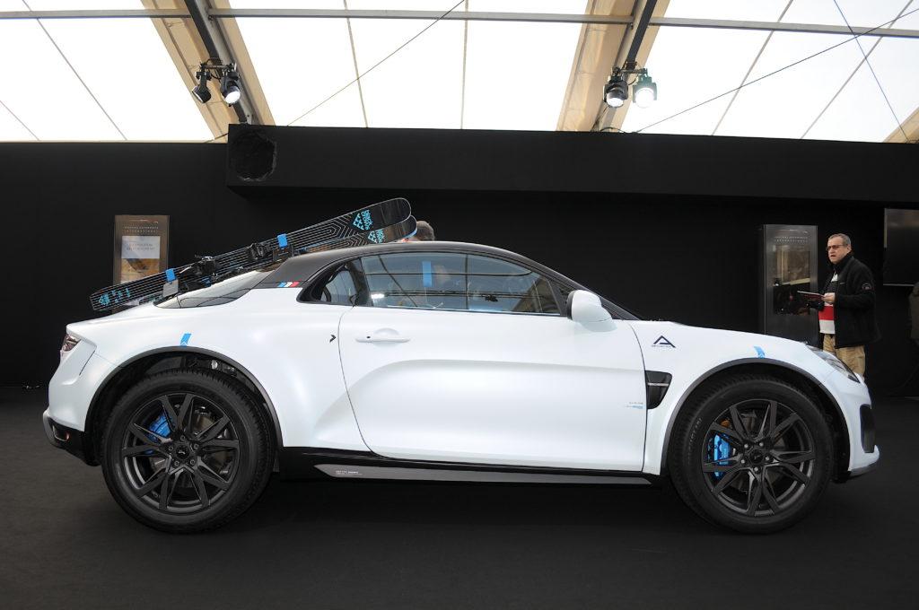 Alpine A110 Sport X profil