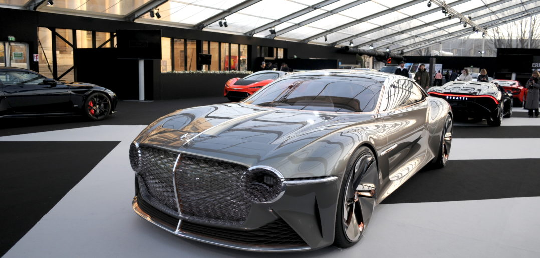 Bentley EXP 100 GT Festival Automobile International