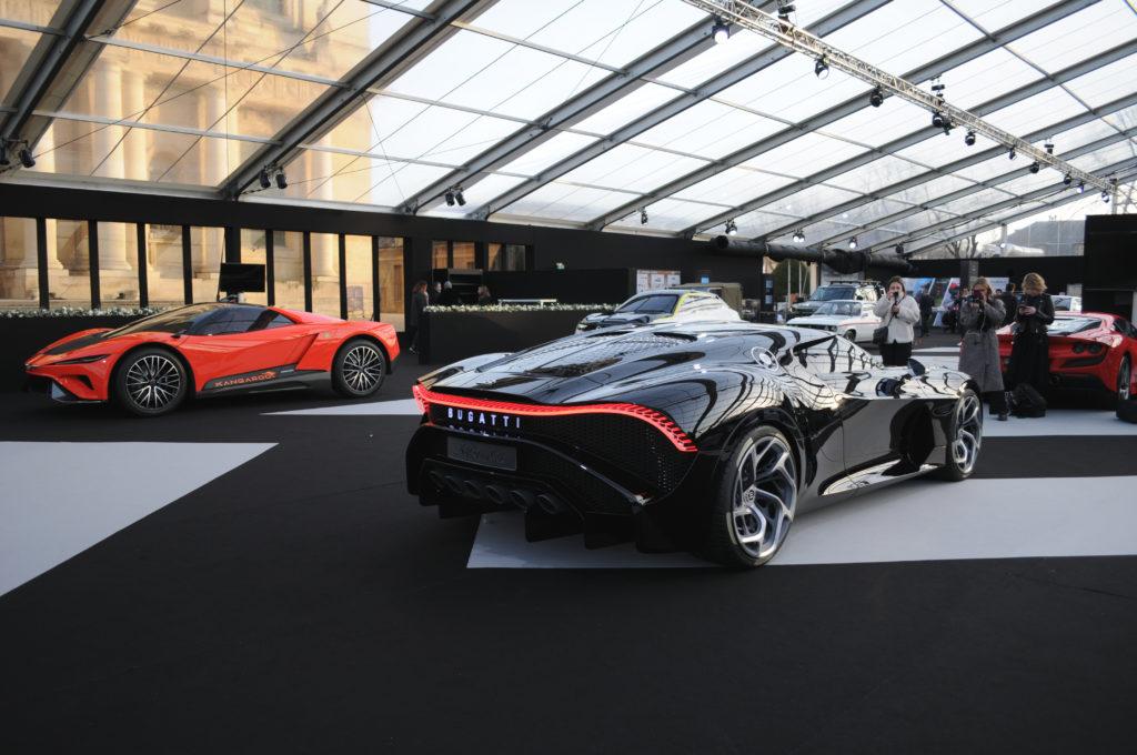 Bugatti La Voiture Noire arrière