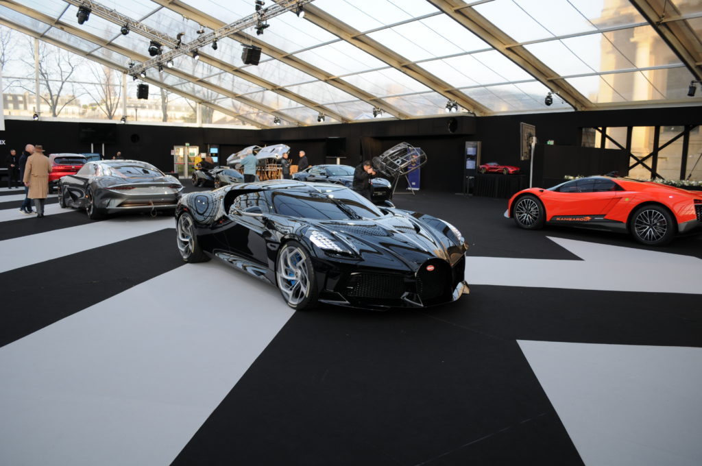Bugatti La Voiture Noire Festival Automobile International