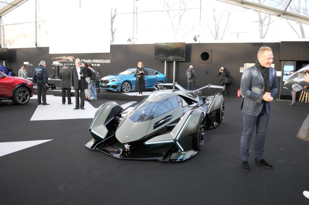 Lamborghini V12 Vision Gran Turismo moteur Mitja Borkert