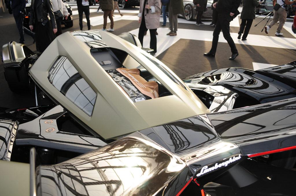 Lamborghini V12 Vision Gran Turismo moteur