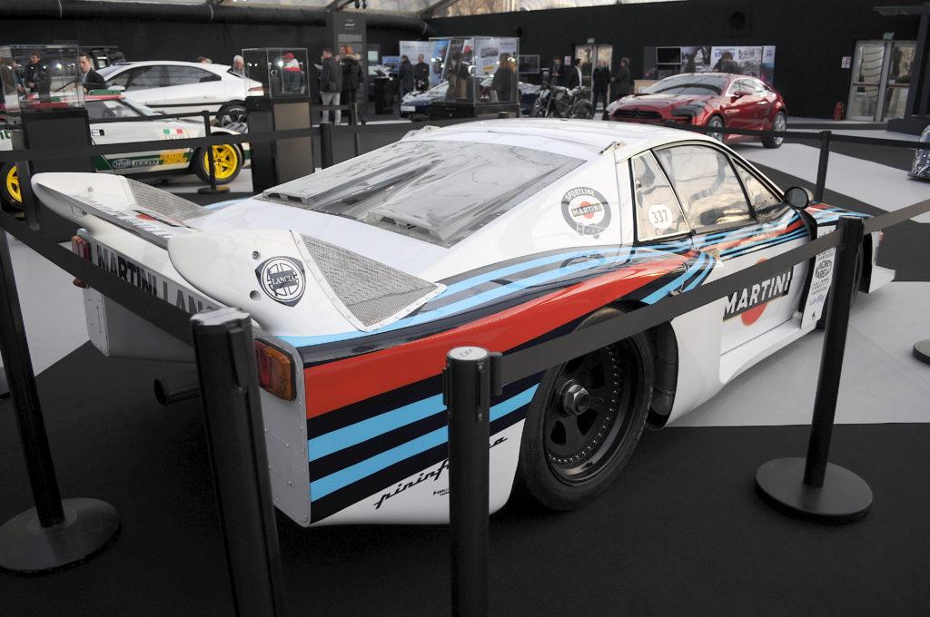 Lancia Beta Montecarlo Turbo Groupe V arrière