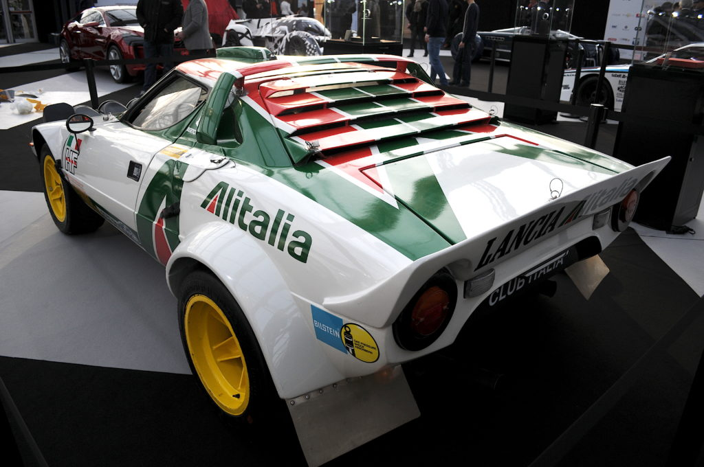 Lancia Stratos Rallye arrière