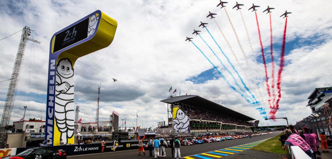 Départ des 24 Heures du Mans 2018